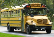 School bus. (Photo licensed by Creative Commons Attribution-Share Alike 3.0)