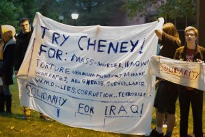 Beloit Cheney Protesters