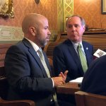 Pre-Assembly news conference, Majority Leader Jim Steineke and Speaker Robin Vos, 11/12/19