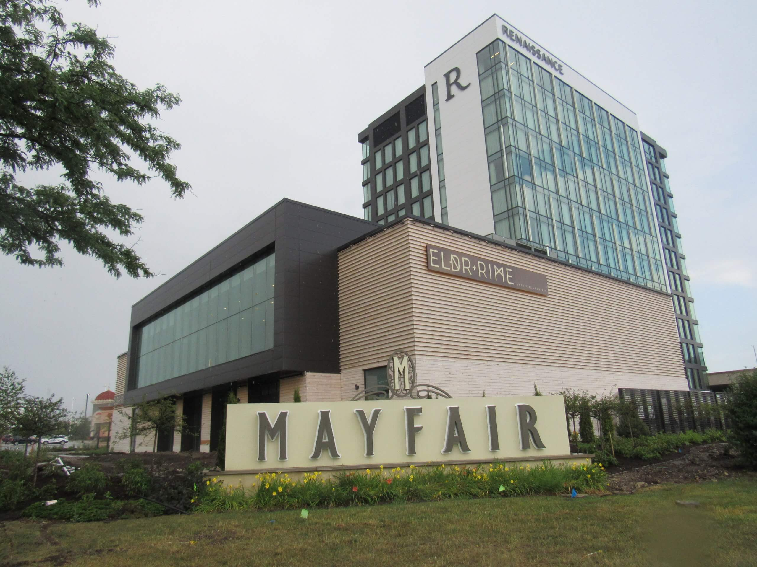Mayfair Mall, the site of many recent protests related to the Wauwatosa Officer Joseph Mensah. (Photo by Isiah Holmes)