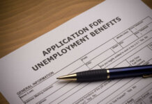 Unemployment benefits application (photo by Getty Images)