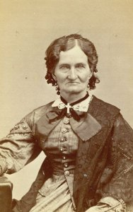 Roseline Peck in 1874 (image courtesy of Wisconsin Historical Society)