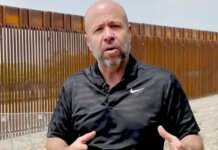 Majority Leader Jim Steineke (R-Kaukauna) at the border wall in Texas | Assembly GOP YouTube